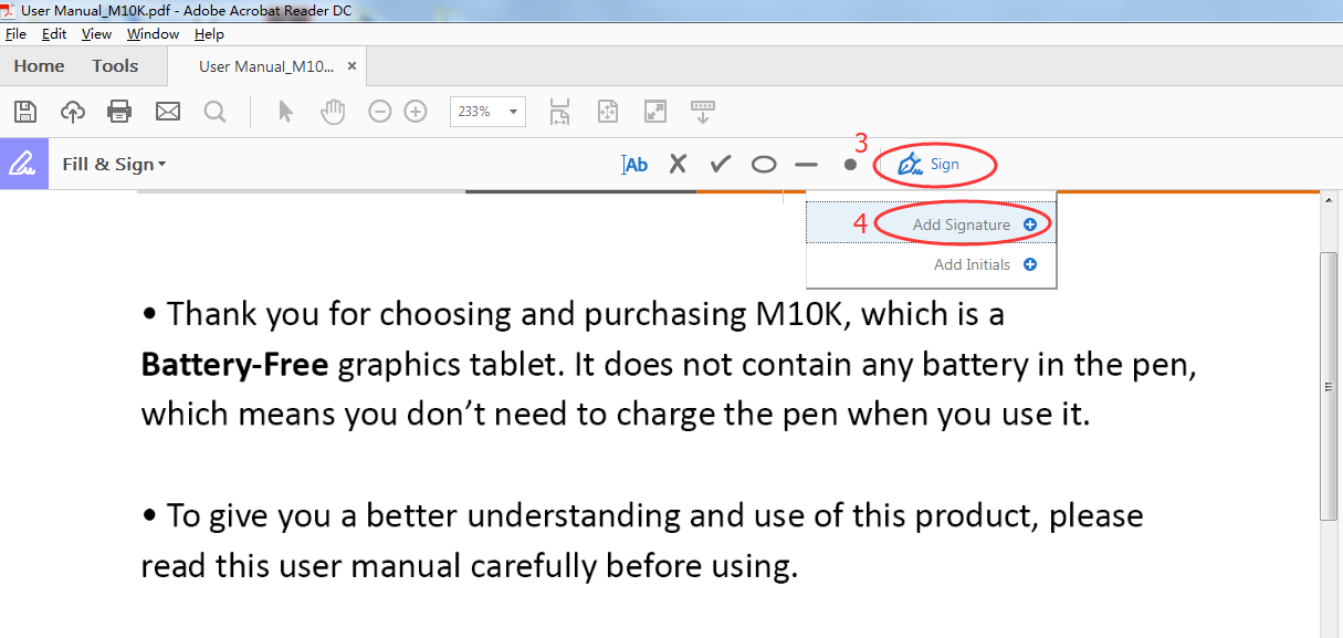 How to Use Pen Tablet to Handwrite words in PDF | GAOMON Q&A