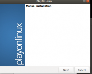 After selecting 'Install a non-listed program', go next--run GAOMON on Linux