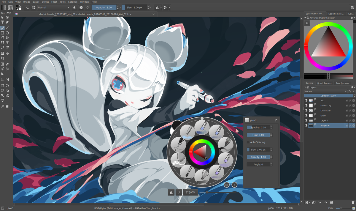 No Pen Pressure in Krita – Mac OS?
