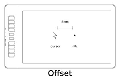 How to Calibrate PD1560 Display for Cursor Offset | GAOMON Q&A