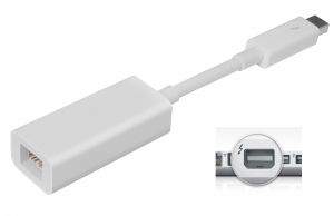 a thunderbolt to HDMI converter for GAOMON PD1560 to Mac
