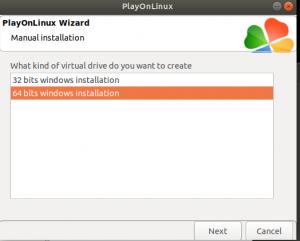 choose a corresponding bit--run GAOMON on Linux
