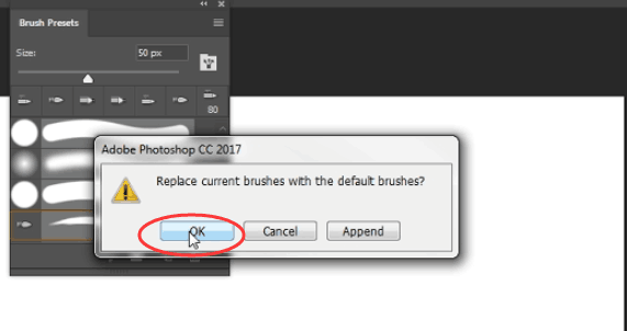 click ok to save changes--to solve GAOMON delay issue in Photoshop