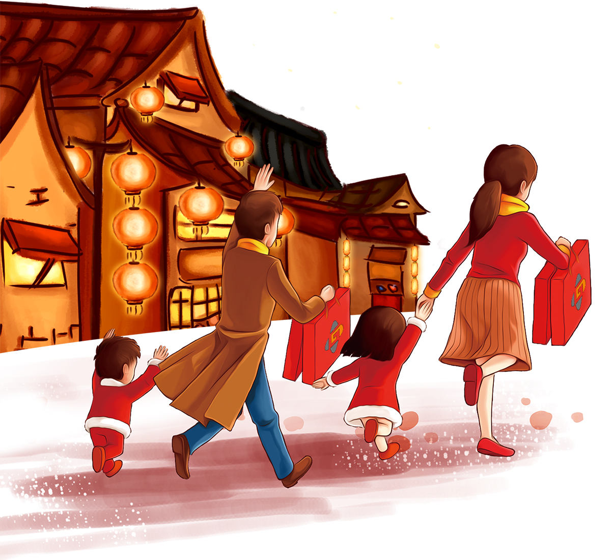 Back home with GAOMON graphics tablet--Chinese New Year--by GAOMON LLC, Anqi