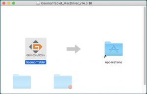 install GAOMON graphics tablet driver