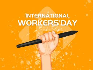 international workers' day-banner