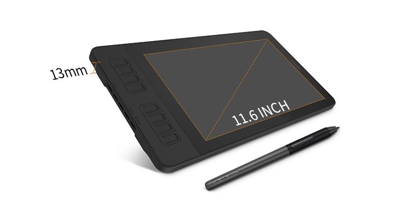 PD1161- ultra-slim drawing display